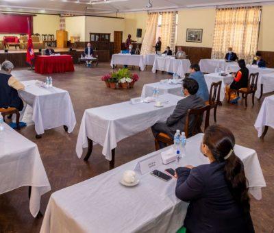 मन्त्री परिषद वैठक सुरु, घिसिङ्को बारेमा निर्णय हुने