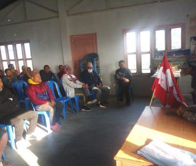 नेपाली काँग्रेस भरतपुर -११ नवजीवनटोलमा नयाँ समिति गठन !