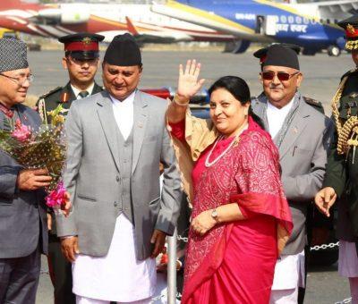 राष्ट्रपति भण्डारी ढाकामाः आजै महत्वपूर्ण भेटवार्ता