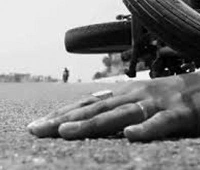 ट्रकको ठक्करबाट मोटरसाइकल चालकको मृत्यु
