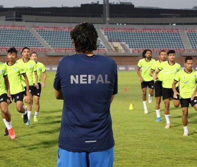 फुटबल टिमकाे बन्द प्रशिक्षणका लागि ५० खेलाडी छनाेट, प्रशिक्षण जुलाईदेखि