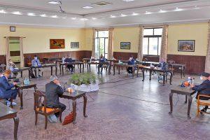 नेकपा एमालेको स्थायी कमिटी बैठक शुरु