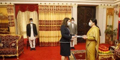 चार देशका राजदूतद्वारा ओहोदाको प्रमाणपत्र प्रस्तुत